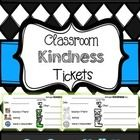 "This freebie can be used in your classroom to promote kindness.  When a student is ""caught"" being kind, s/he can receive a ticket.  I usually put t..."