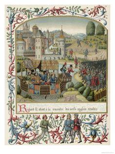The Peasant's Revolt, King Richard II