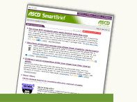 SmartBrief  I receive ASCD SmartBrief several times a week.  SmartBrief curates informative articles in the field of education and provides links to other educational resources.