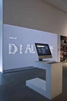 LUST   Graphic and Interactive Design   Scraper Type Installation