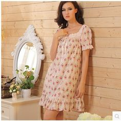 Nightgowns Women Summer Nightdress Lace Vintage Flowers Cotton Night-Robe Women's Lounge Nightgown Sleepshirts     Tag a friend who would love this!     FREE Shipping Worldwide     Get it here ---> http://oneclickmarket.co.uk/products/nightgowns-women-summer-nightdress-lace-vintage-flowers-cotton-night-robe-womens-lounge-nightgown-sleepshirts/