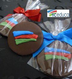 Pastilhas de chocolate personalizadas