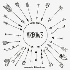 Colección esbozada de flechas Más Study Inspiration, Journal Inspiration, Bujo, Art And Architecture, Studying, Kitten, Journaling, Arrow, Bullet