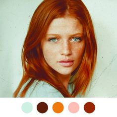 one of my fav model's. she is SO beautiful! i wish i was a redhead with freckles!