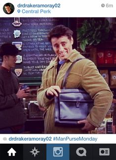 """If Joey From """"Friends"""" Had Instagram How you doin'?"""