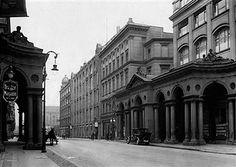 Berlin Mohrenstrasse in Mitte (Kolonnaden)1929