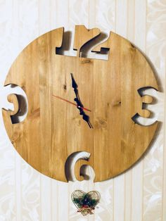 a great idea for large wall clocks