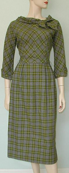 librarian dress, early 60's