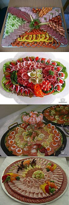 Meat Trays, Meat Platter, Charcuterie Platter, Food Trays, Finger Food Appetizers, Finger Foods, Buffet, Snacks, Culinary Arts