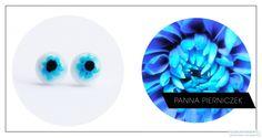 earrings, small, mini, murano, glass, fusing