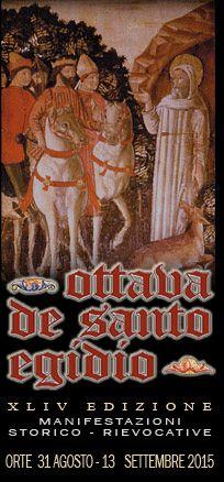 Italia Medievale:  XLIV Edizione dell'Ottava Medievale de Santo Egidio a Orte (VT)