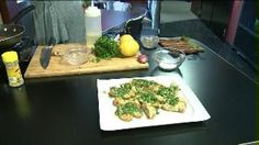Grilled Lemon Chicken with Fresh Parsley Sauce (11.07.13)