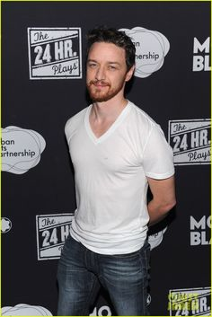 James McAvoy: 24 Hour Plays On Broadway After Party!   November 19, 2013