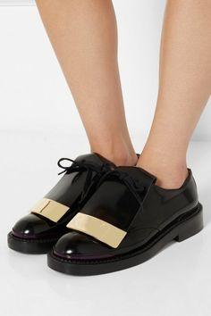 derbies femme pas cher, chaussures à lacets noirs, chaussures femme noires