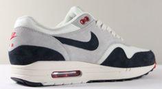 Nike Air Max 1 OG – White/ Navy/ Red
