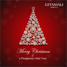 #Gitanjali #Jewels wishes you a #Merry #Christmas & a #Happy #New #Year #2015