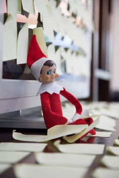 Our second year of Elf on the Shelf, we moved house the day before Buddy arrived so it was a little chaotic. We kept the ideas pretty simple without much prep time needed.