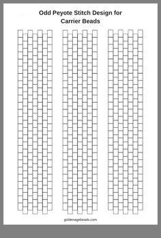 Odd peyote stitch graph – My Unique Wardrobe Peyote Beading Patterns, Peyote Stitch Patterns, Seed Bead Patterns, Beaded Bracelet Patterns, Loom Beading, Weaving Patterns, Mosaic Patterns, Painting Patterns, Beaded Bracelets