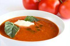 Verse Italiaanse Tomatensoep Met Basilicum recept | Smulweb.nl
