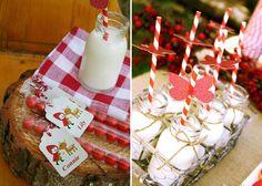 Little Red Riding Hood Guest Dessert Feature | Amy Atlas Events