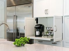 A modern kitchen should be both aesthetically pleasing and functional. | Laurel & Wolf |