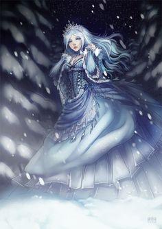 "anikakinka: "" Snow Queen Secret Santa for wolf118 """