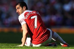 Arsenal plot Henrikh Mkhitaryan summer transfer to help fund four new signings Manchester United, Calum Chambers, Arsenal Kit, Danny Welbeck, Chelsea, Action Images, World Cup Winners, Football Tops, Face Images