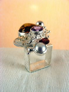 gregory pyra piro band #ring 1710 #sterling #silver with a touch of solid #gold…