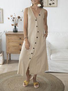 Maxi Shirt Dress, Chiffon Maxi Dress, Mesh Dress, Buy Dress, Sleeveless Dresses, Cardigan Fashion, Button Down Dress, Dresses Online, Casual Dresses