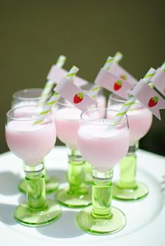 Strawberry milk #strawberrymilk #party