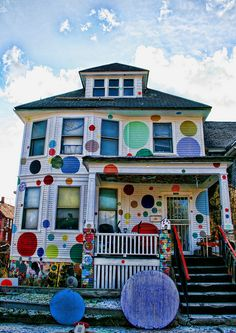 Heidelberg Project - The Dot House (Detroit)