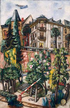 Max Beckmann, Frankfurt, 1921