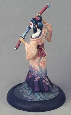 Geisha Assassin - Visions in Fantasy - Miniature Lines