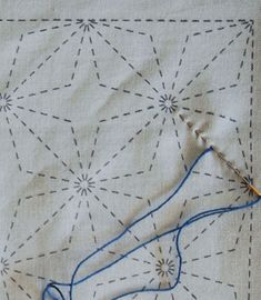Excellent Tutorial for Sashiko Stitching