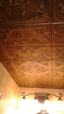 This beautiful Vine pattern on this polystyrene ceiling tiles is making this tile a top seller.