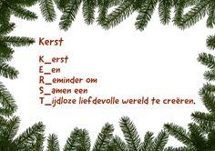 Kerst K_erst E_en R_eminder om S_amen een T_ijdloze liefdevolle wereld tecreëren. Ingezonden door: Roely Anema