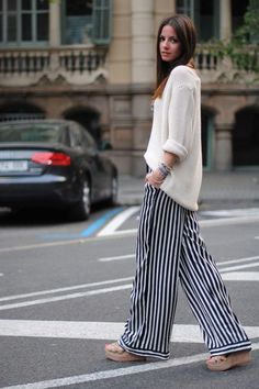 How to Style Loose Pants | Popbee - a fashion, beauty blog in Hong Kong.