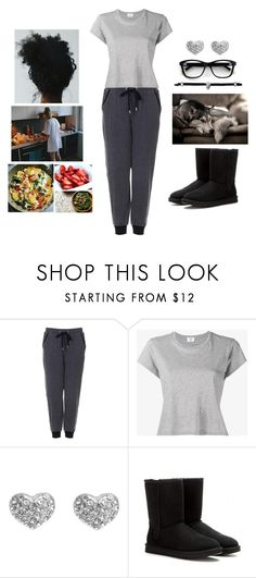 """Cooking Skills"" by teodoramaria98 ❤ liked on Polyvore featuring GET LOST, Topshop, RE/DONE, Pilgrim and UGG"