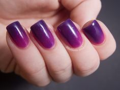 Pretty and Polished - Day Trippin' Color Changing Polish | Chalkboard Nails…