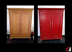 Afbeeldingsresultaat voor warme kleur moderne kast