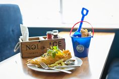 Cromer - Fish & Chips Take Away and Restaurant in Cromer by Michelin Star Chef, Galton Blackiston. Fish And Chips Takeaway, Norfolk Holiday, Rhubarb And Custard, Mint Chocolate Chips, French Vanilla, New Flavour, Best Places To Eat, Cromer, Restaurant