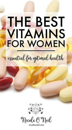 6 Vitamins EVERY Woman Needs for Optimal Health - The Best Supplements for Women's Health, Wellbeing and Vitality | Iron, B12, Biotin, Calcium, Magnesium and Vitamin D Health Benefits, Uses and Recommendations.