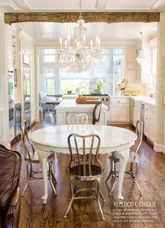Uma cozinha cheia de glamour. Veja mais: http://www.casadevalentina.com.br/blog/materia/cozinha-com-glamour.html  #kitchen #cozinha #decor #decoracao #interior #charm #design #casadevalentina