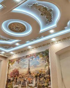 Interior Ceiling Design, House Ceiling Design, Ceiling Design Living Room, Bedroom False Ceiling Design, Home Ceiling, Ceiling Decor, Latest False Ceiling Designs, False Ceiling For Hall, Front Door Design Wood