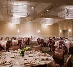 The Westin Southfield Detroit—Algonquin Ballroom by Westin Hotels and Resorts… Restaurant Wedding, Restaurant Bar, Ballroom Design, Public Space Design, Hall Interior, Function Room, Hotel Interiors, Ceiling Design, Dining Area