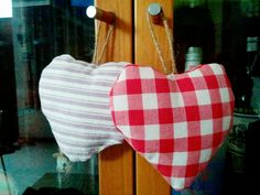 Cuori..bellissimi come decorazione per la casa e ottima idea per un semplice regalo