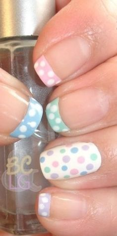 simple nail art desi