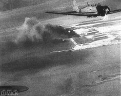 B5N2 (Allied Reporting Name 'Kate') torpedo bomber during the attack on Pearl Harbor, 1941.