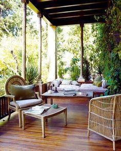 Disfruta de jardines, porches, patios y terrazas
