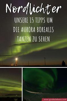 Ihr wollt Nordlichter sehen und fotografieren? Unsere 15 Tipps um die Aurora Borealis tanzen zu sehen. Das solltet ihr beachten, um Nordlichter zu sehen. Für alle die auch einmal Aurora Borealis sehen und fotografieren möchten: Vorbereitung ist alles! Unsere Tipps basieren auf unseren eigenen Erfahrungen die wir auf unseren Nordlichter Reisen in Island, Spitzbergen und Tromsø gemacht haben. #Nordlichter #AuroraBorealis #Polarlichter #Nordlichtersehen #NordlichterTipps #Tipps Tromso, Aurora Borealis, Travel Couple, Dream Vacations, Places To See, Northern Lights, Travel Photography, Around The Worlds, Island